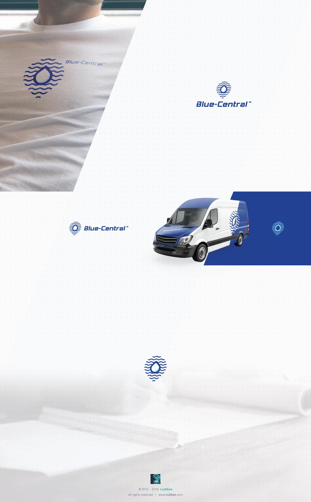 Blue-Central logo