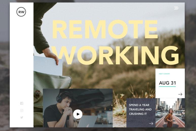 Diseño de trabajo remoto