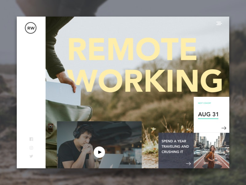 Remote working design