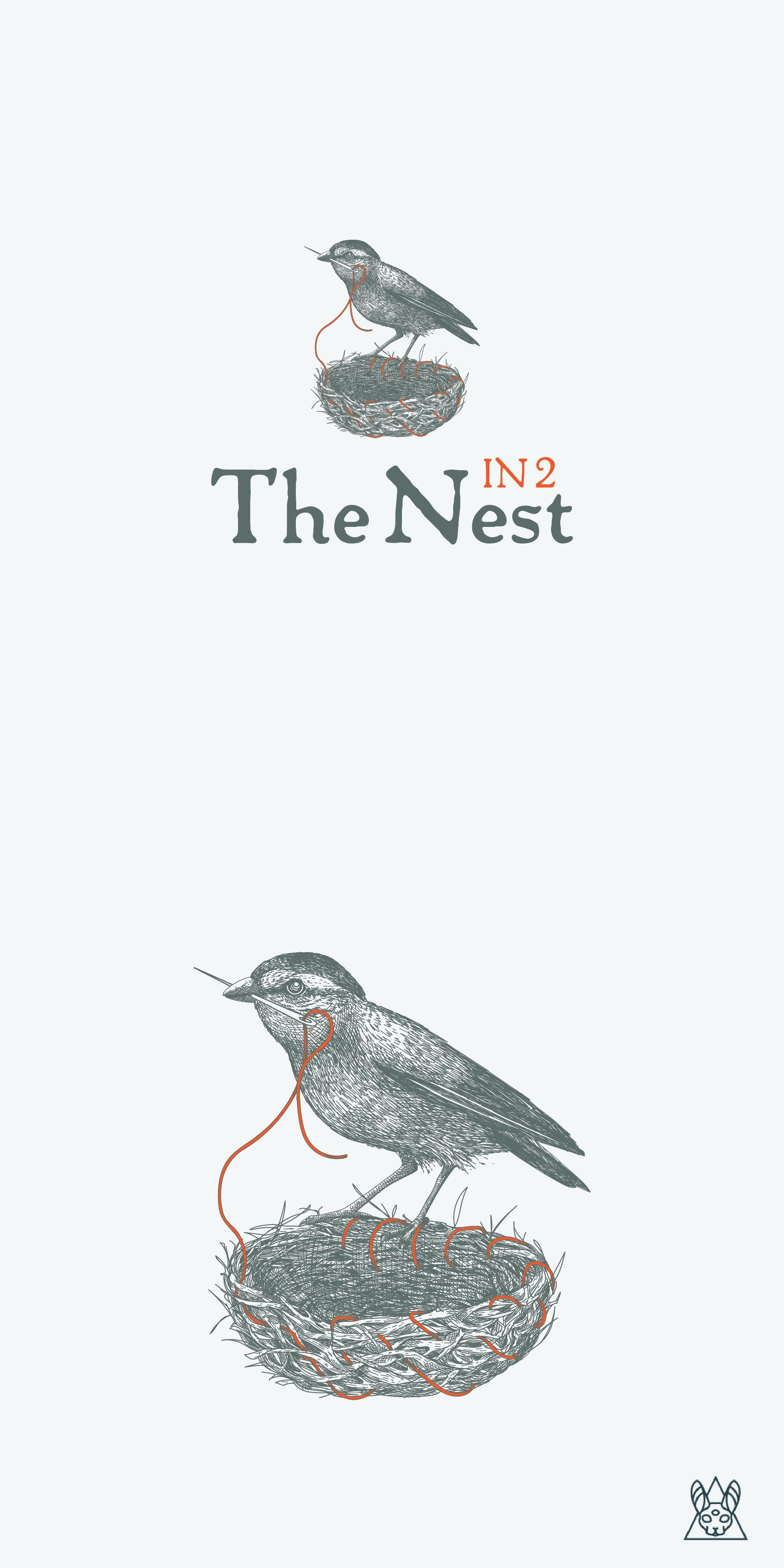 The Nest bird logo