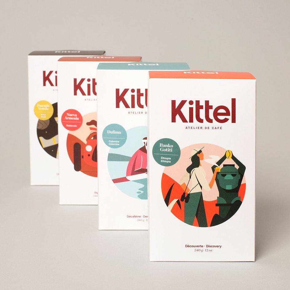 Kittel narrative package design