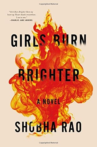 Girls burn brighter book cover