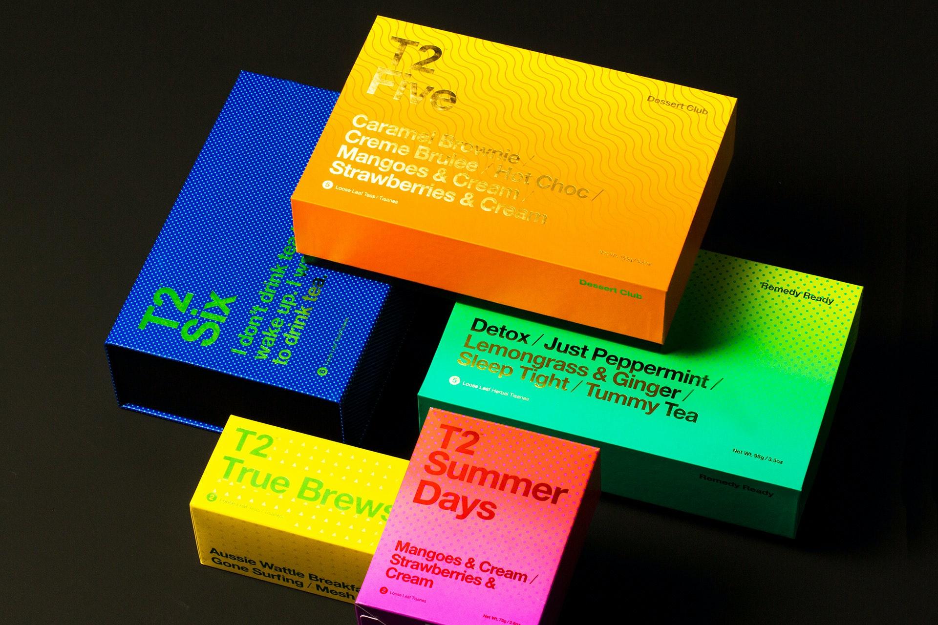 T2 gradient packaging