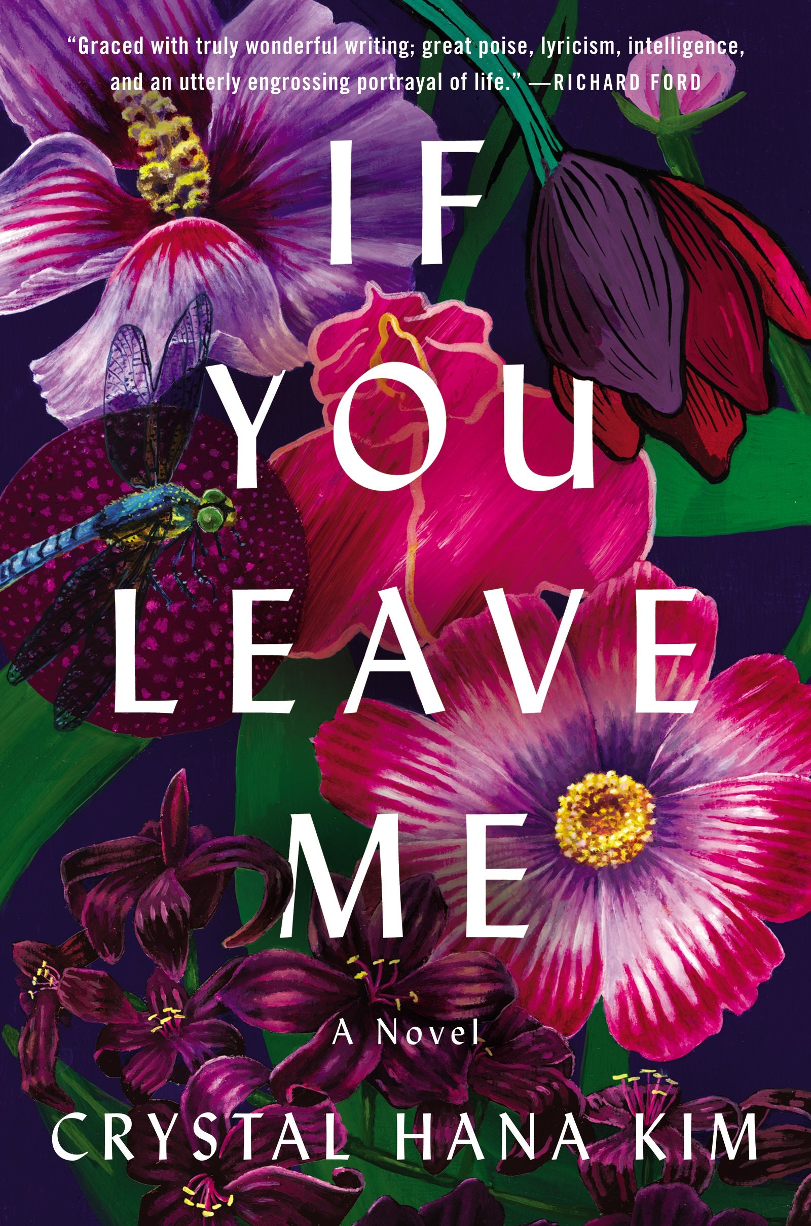 If you leave me book cover