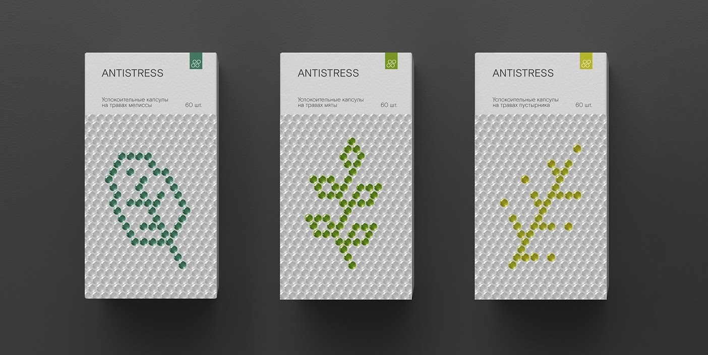 Anti stress bubble wrap inspired packaging
