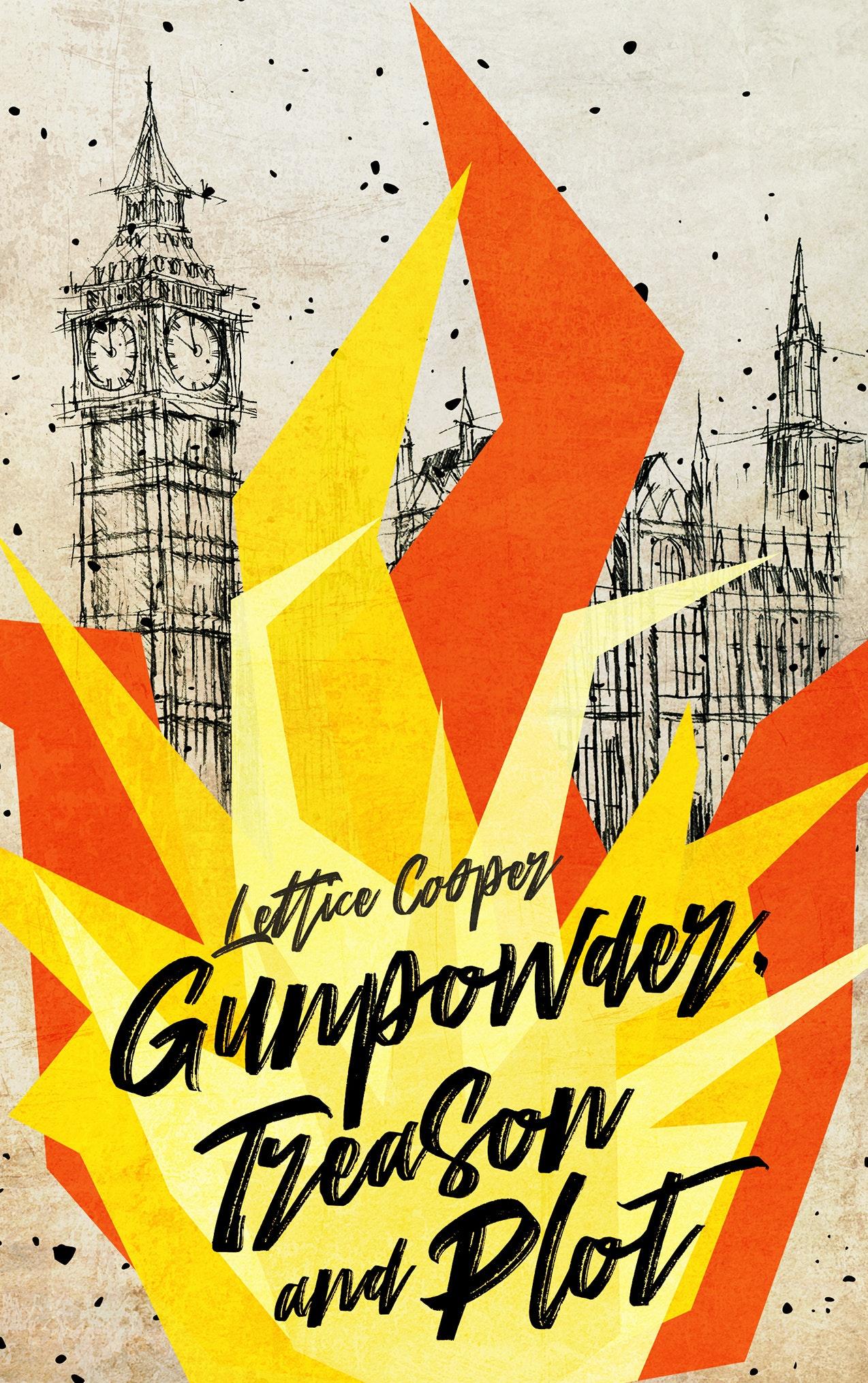 Gunpowder treason and plot book cover