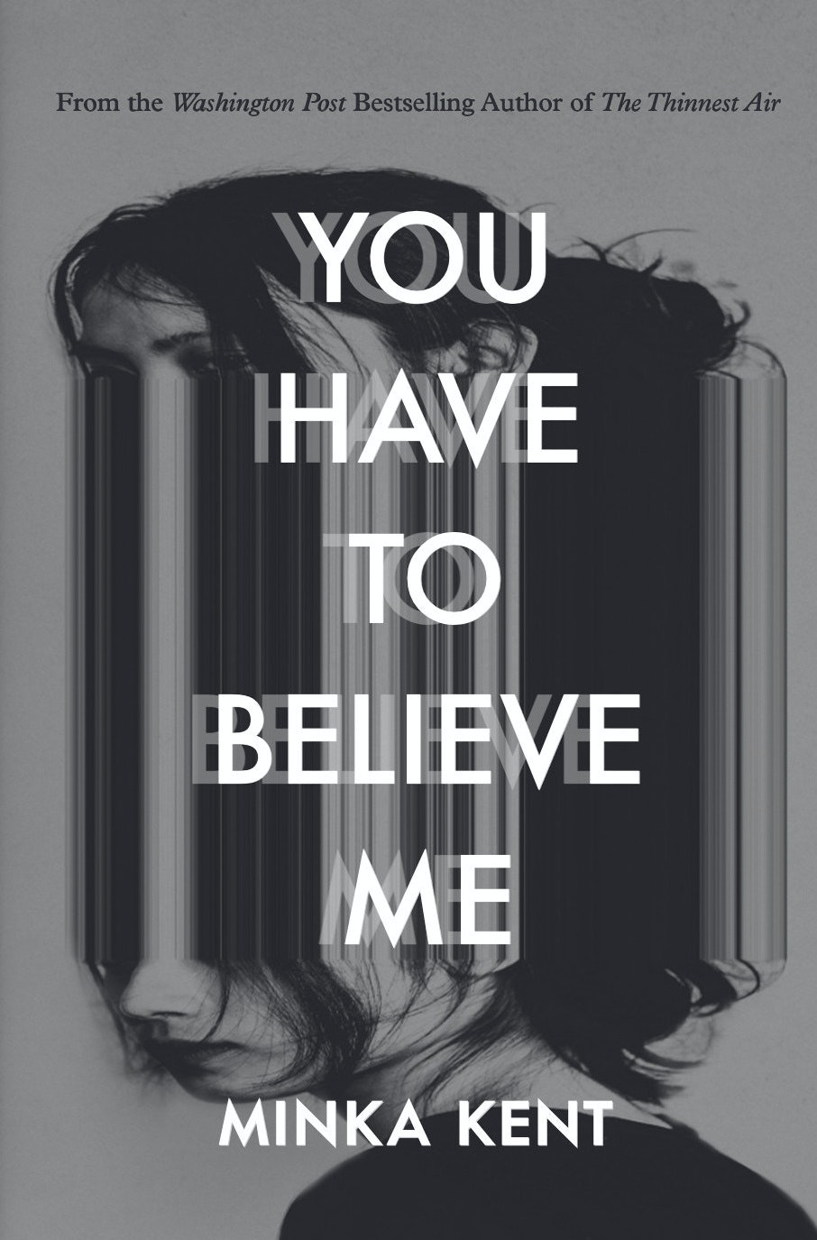 You have to believe me book cover