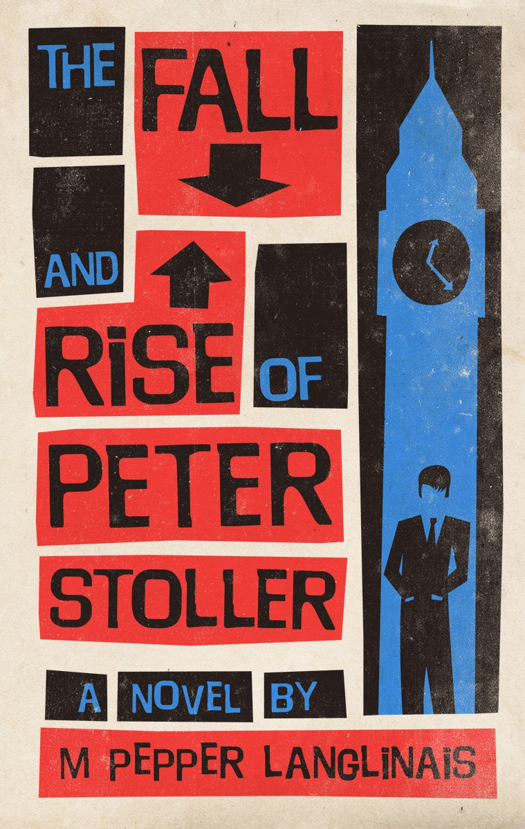 The fall and rise of peter stoller book cover