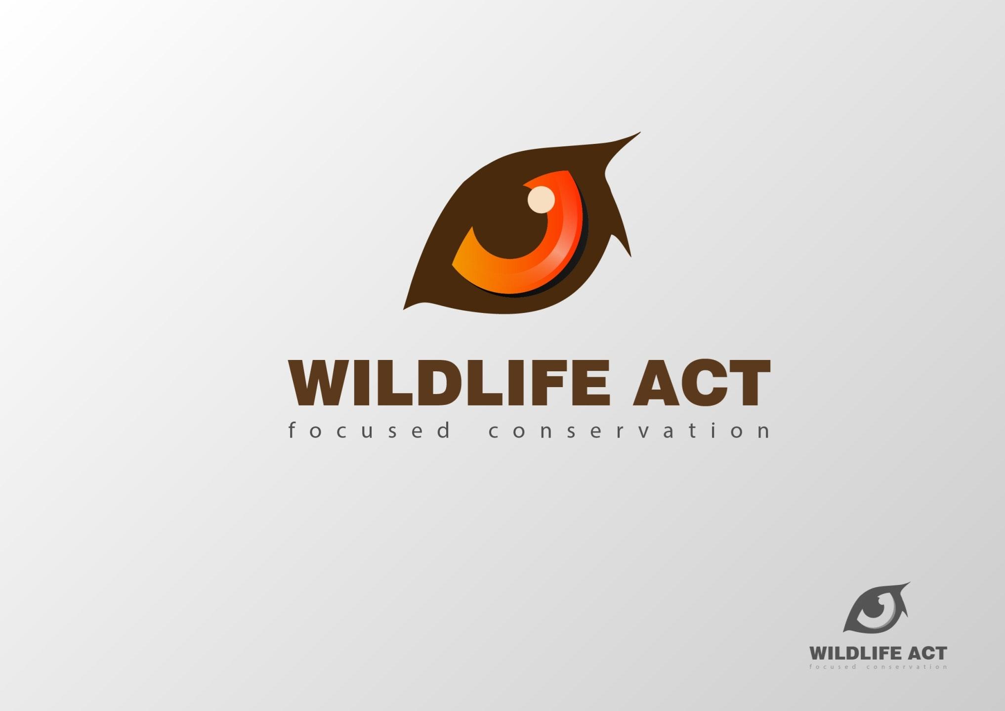 Wildlife Act eye logo