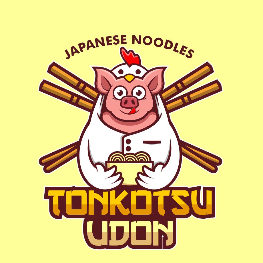 Tonkotsu Udon animal logo