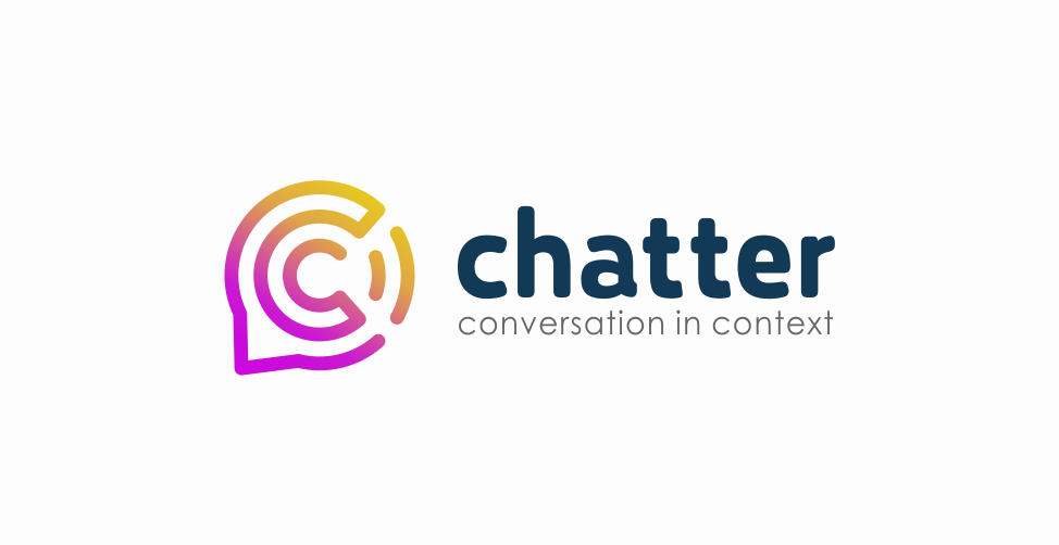 Chatter logo design