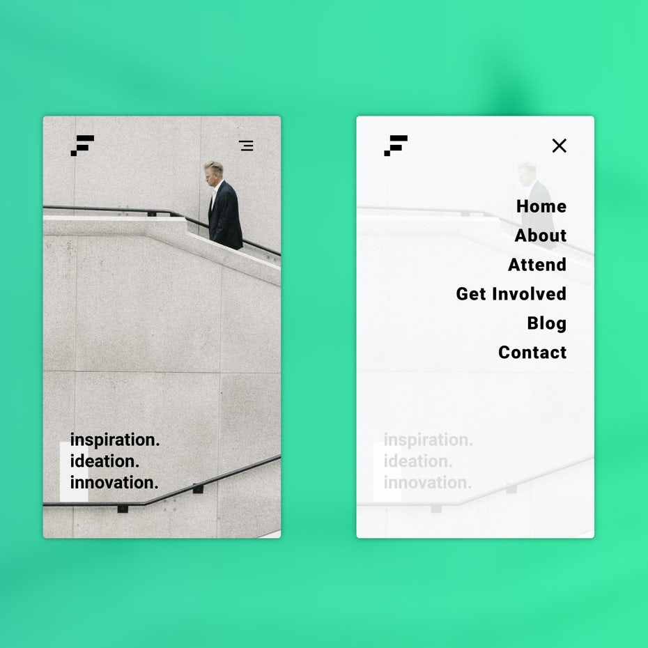 Clean and bold design