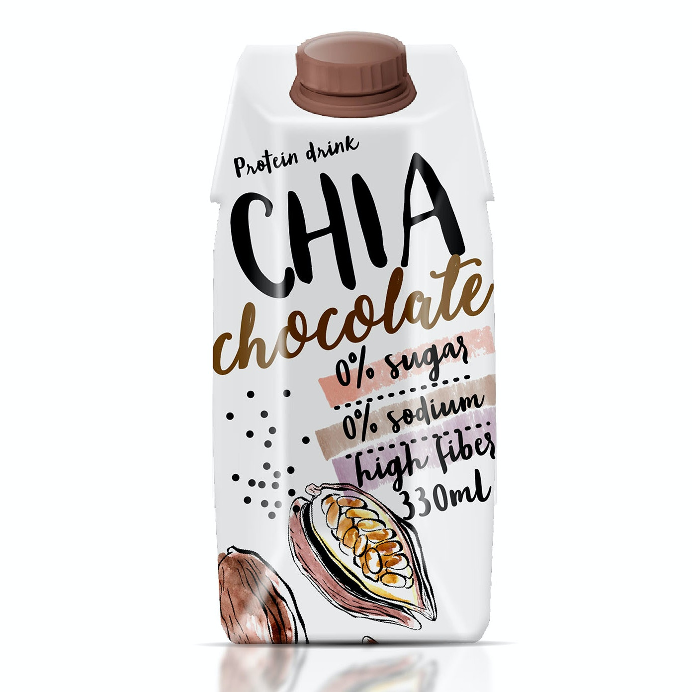 Chia chocolate packaging