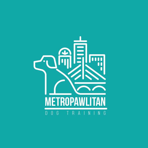 Metropawlitan dog logo