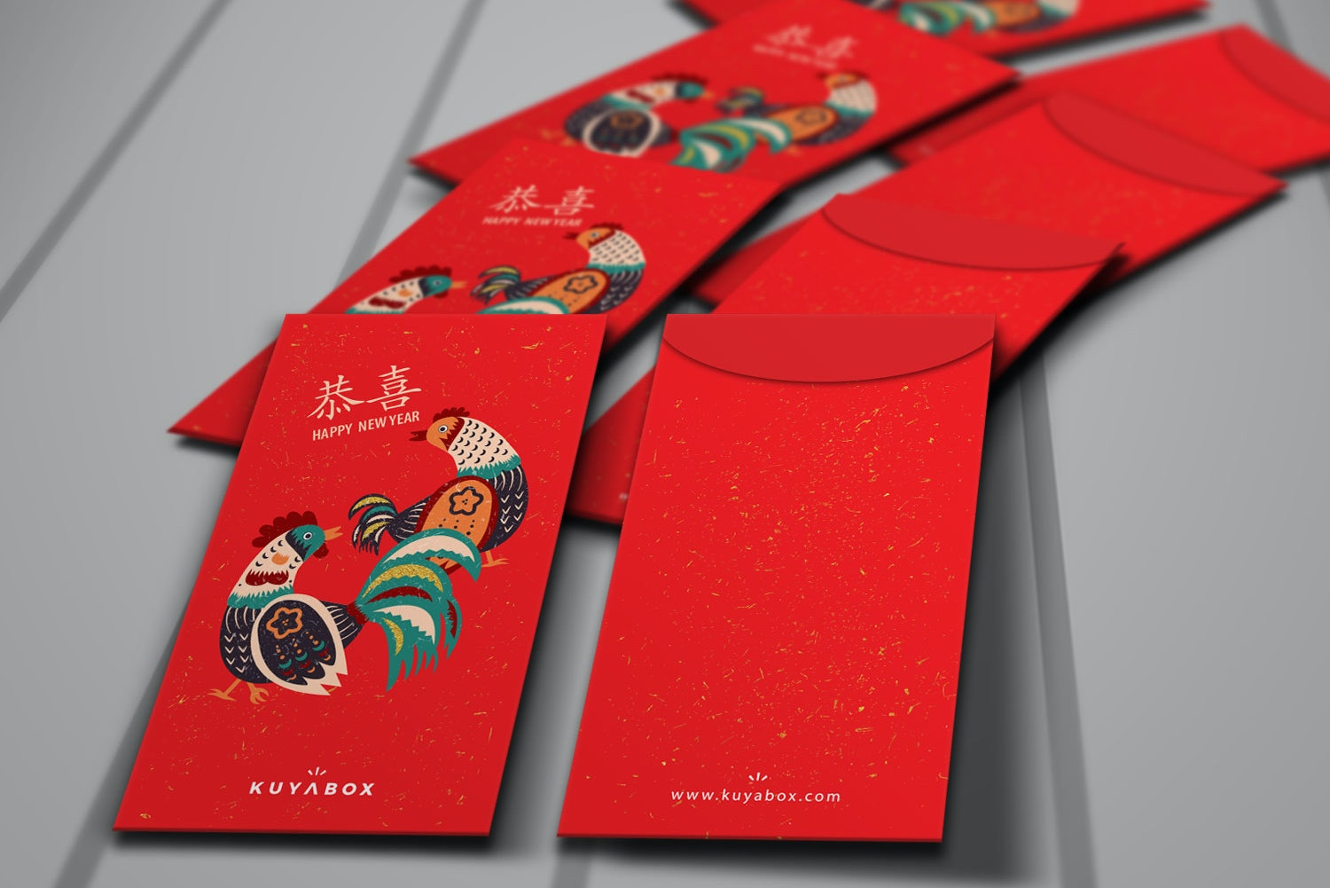 Traditional envelope for Chinese New Year