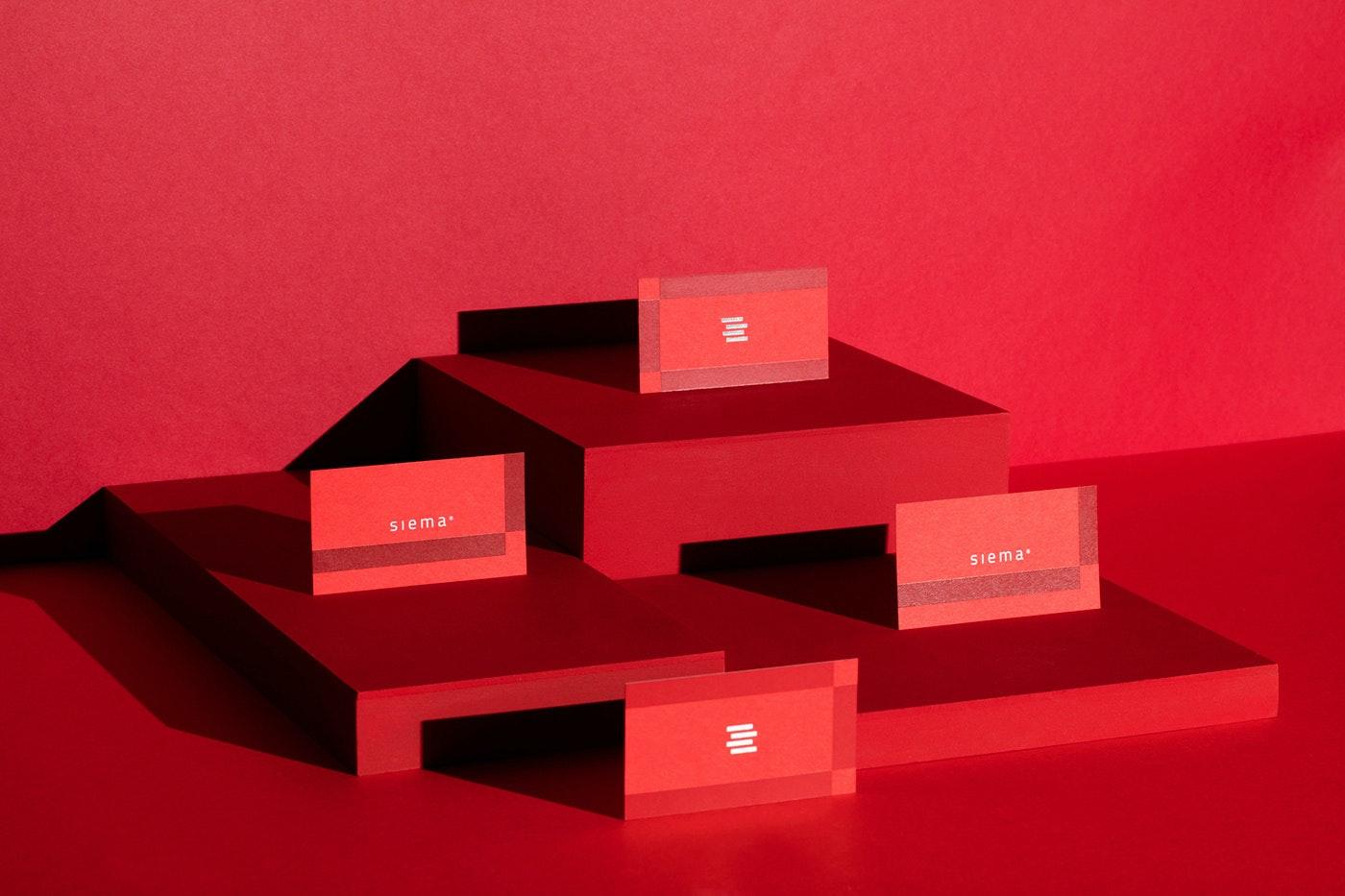 Red branding