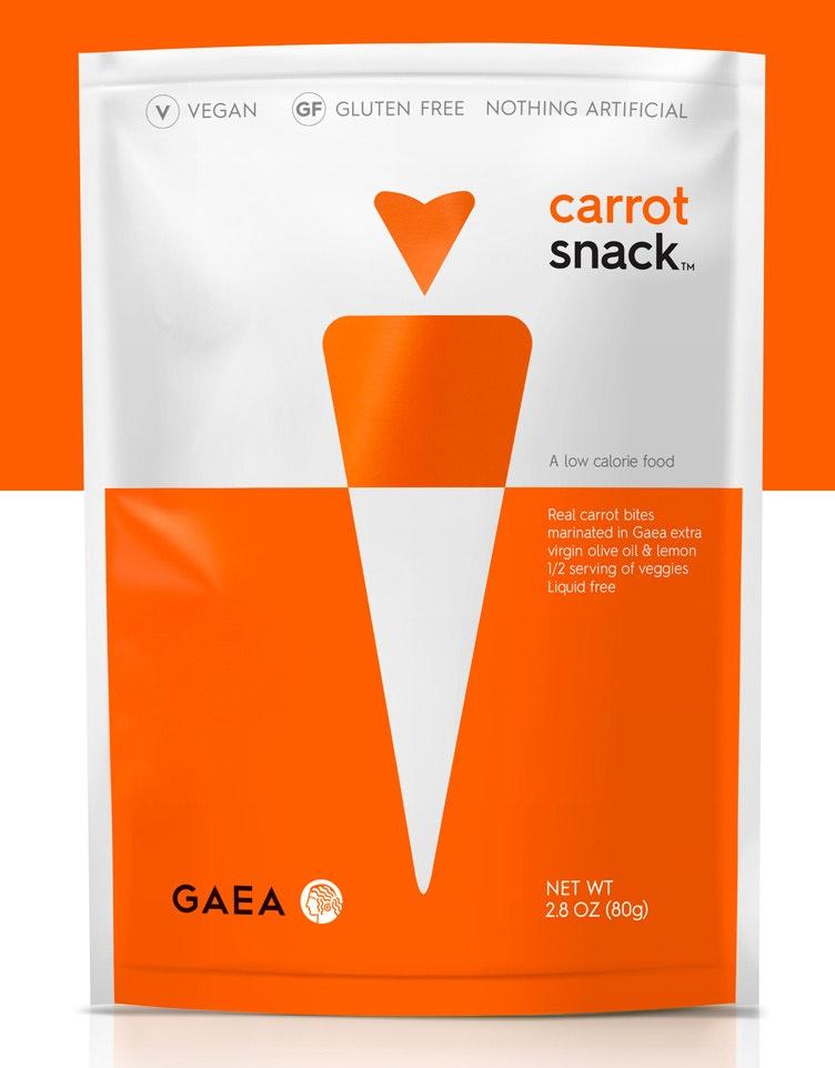 Simple snack packaging