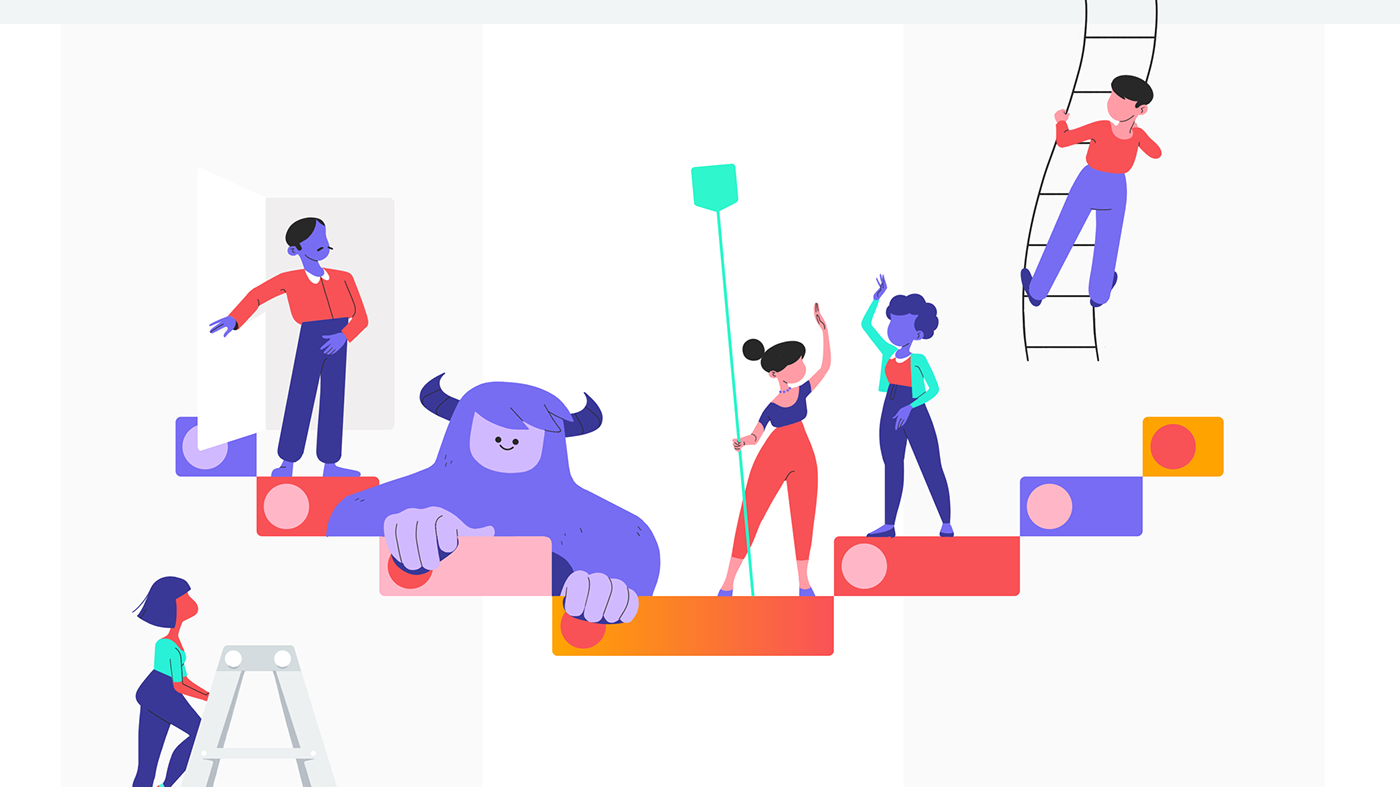 Oddfellows' animations for Asana