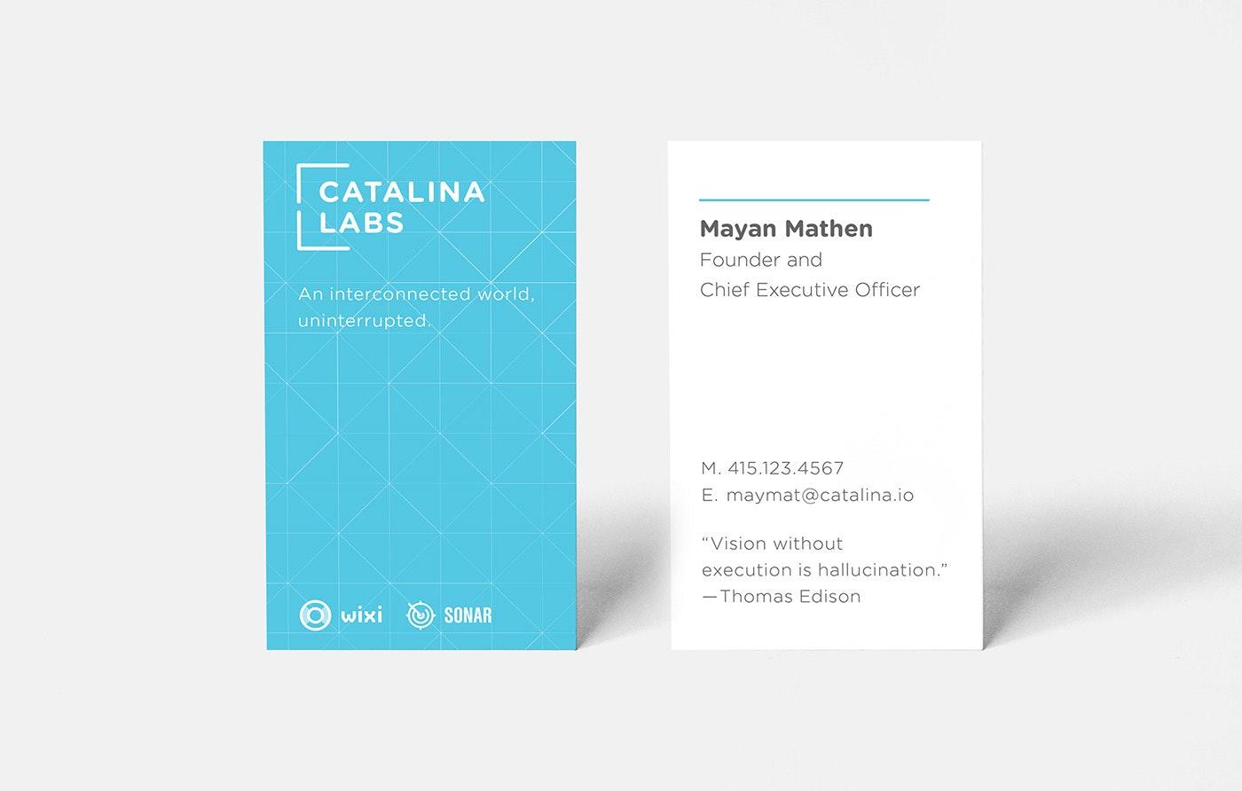 Socio Fabrica's logo for Catalina Labs