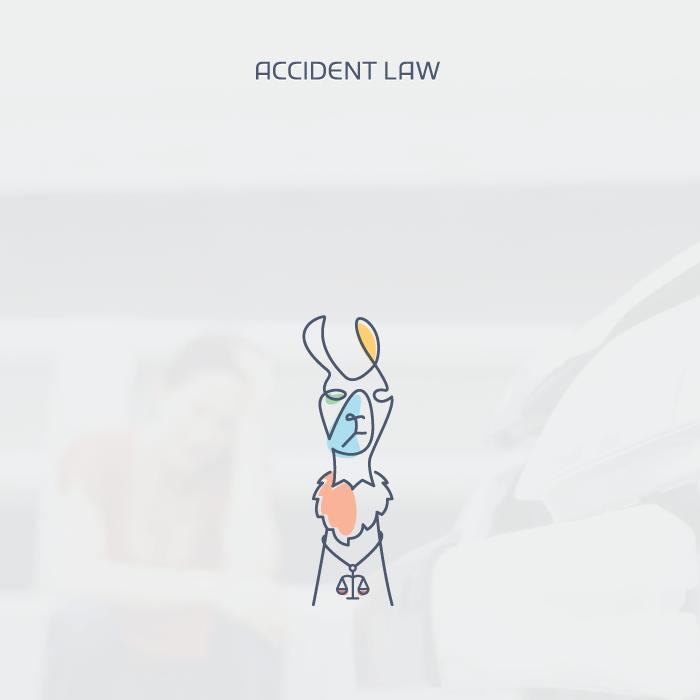 Accident Law llama logo