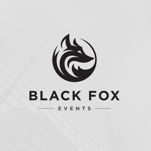 Black Fox Events logo