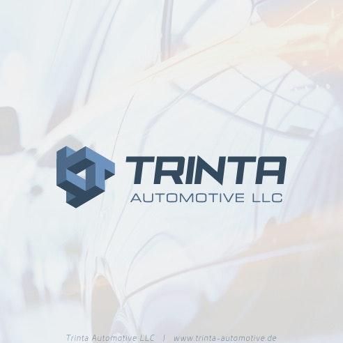 Isometric logo design for Trinta