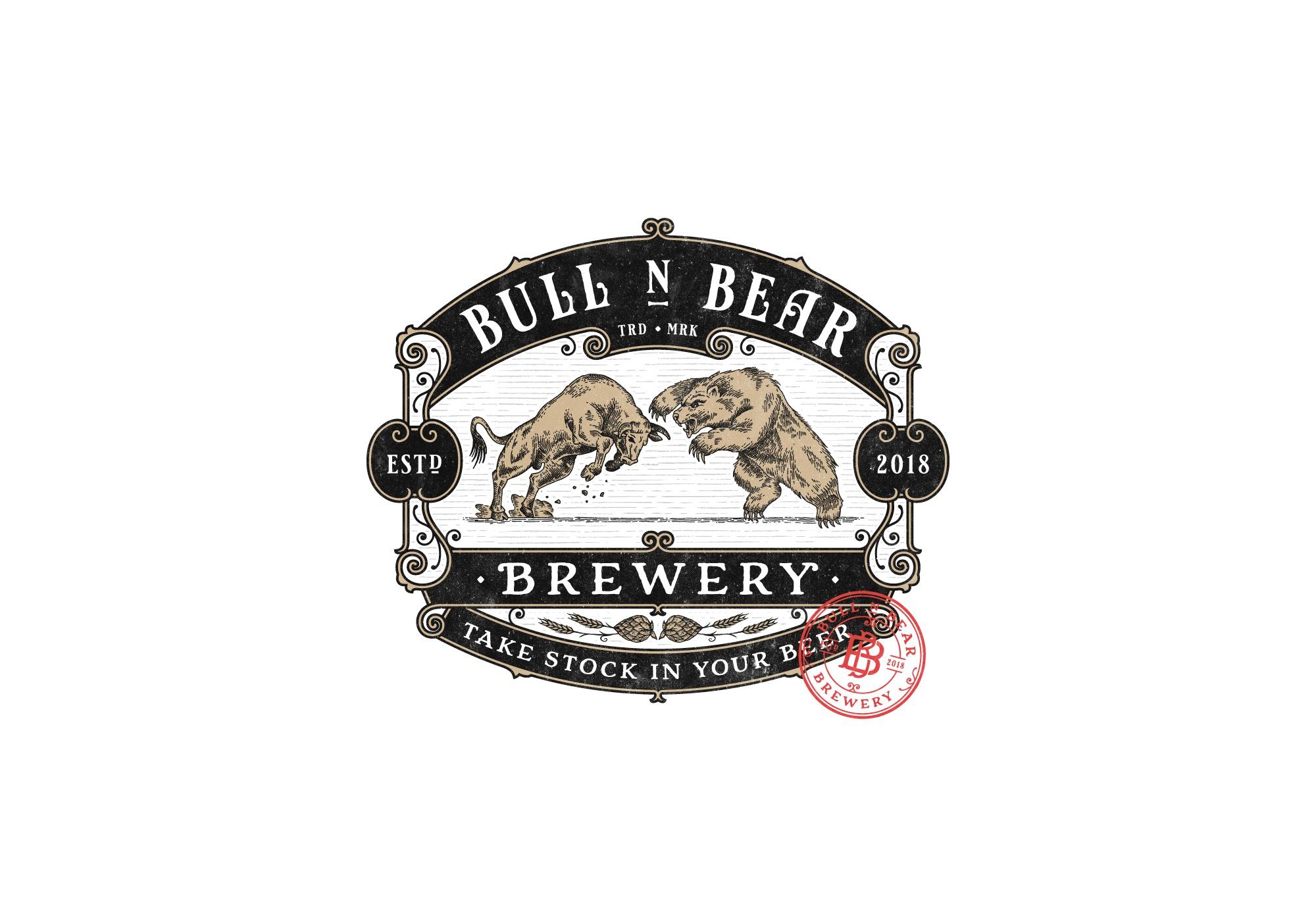 Bull N Bear Brewery Logo