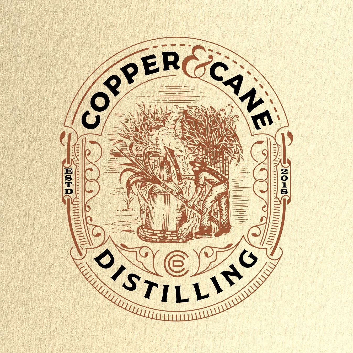 Copper & Cane Distilling logo