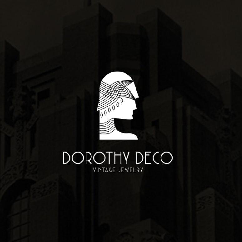 Art deco logo design