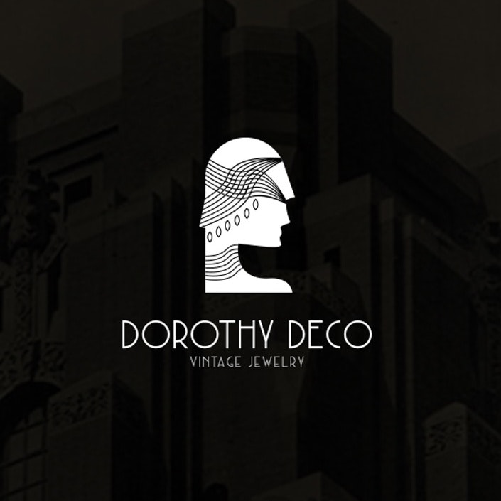 Art deco logo design