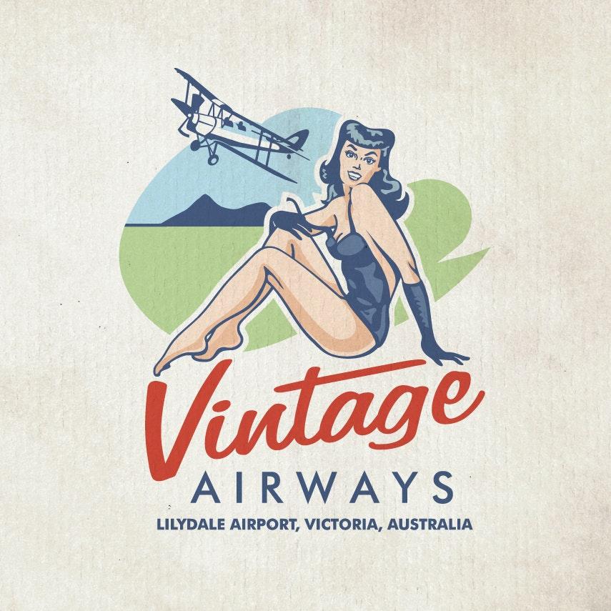 Vintage Airways logo
