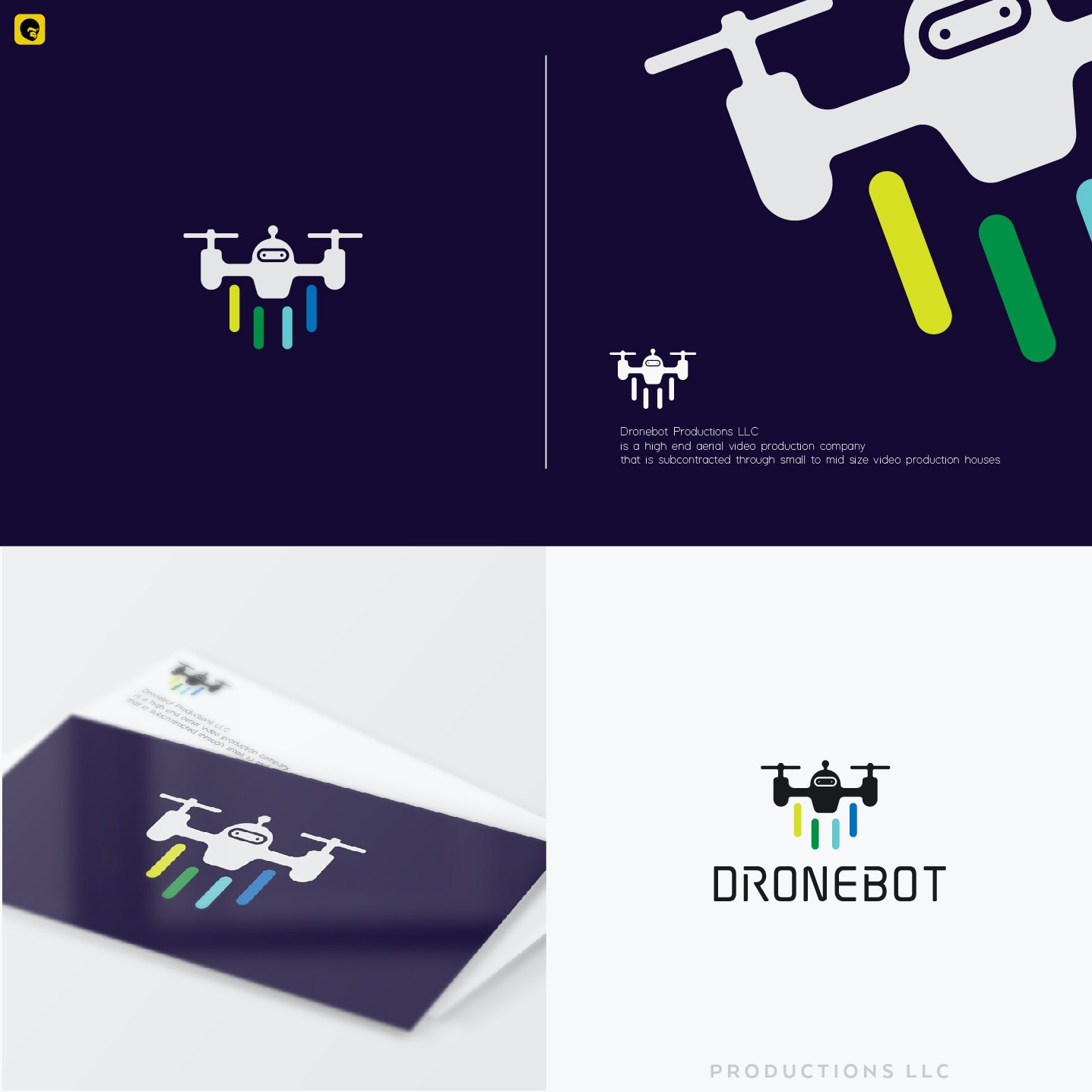 Dronebot Productions, LLC branding package
