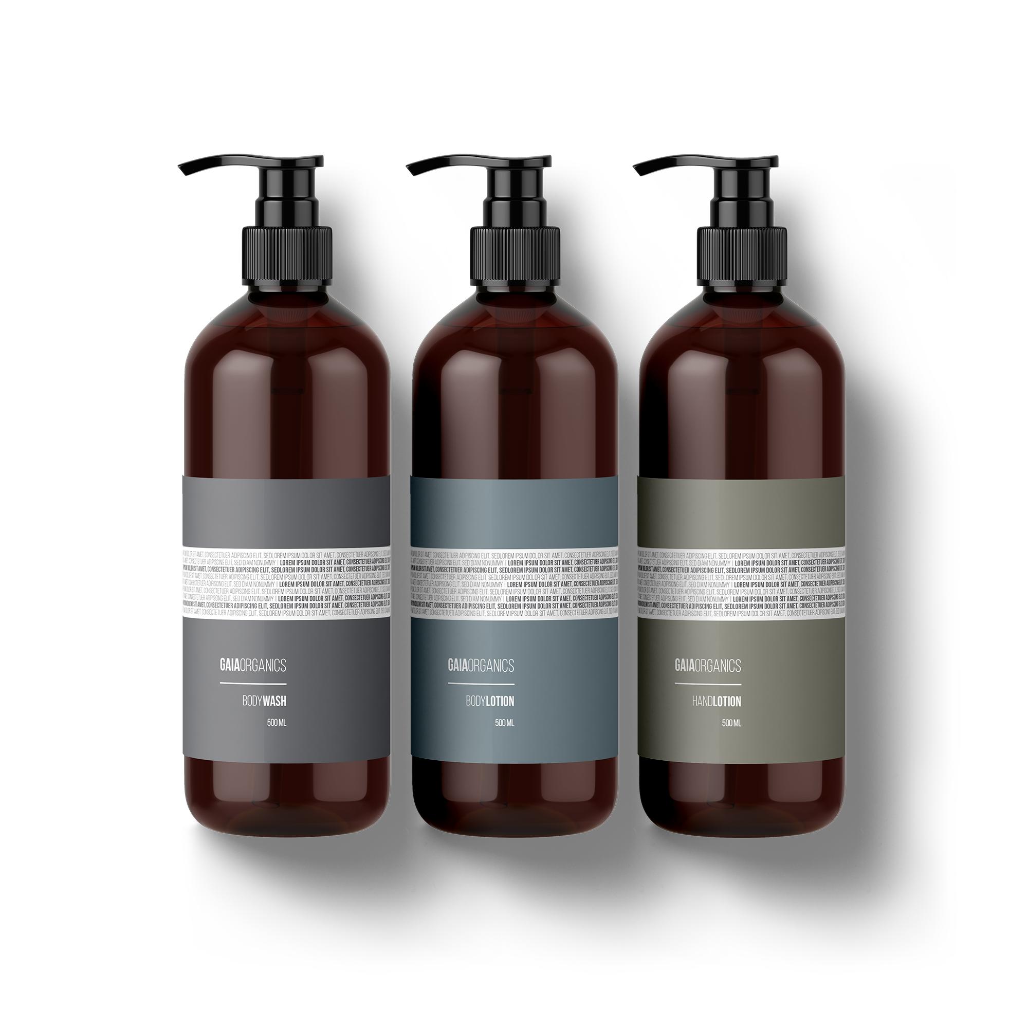 minimalist label design