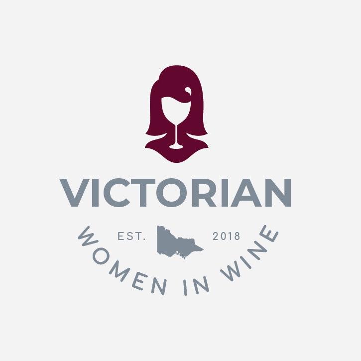 Victorian women in wine logo