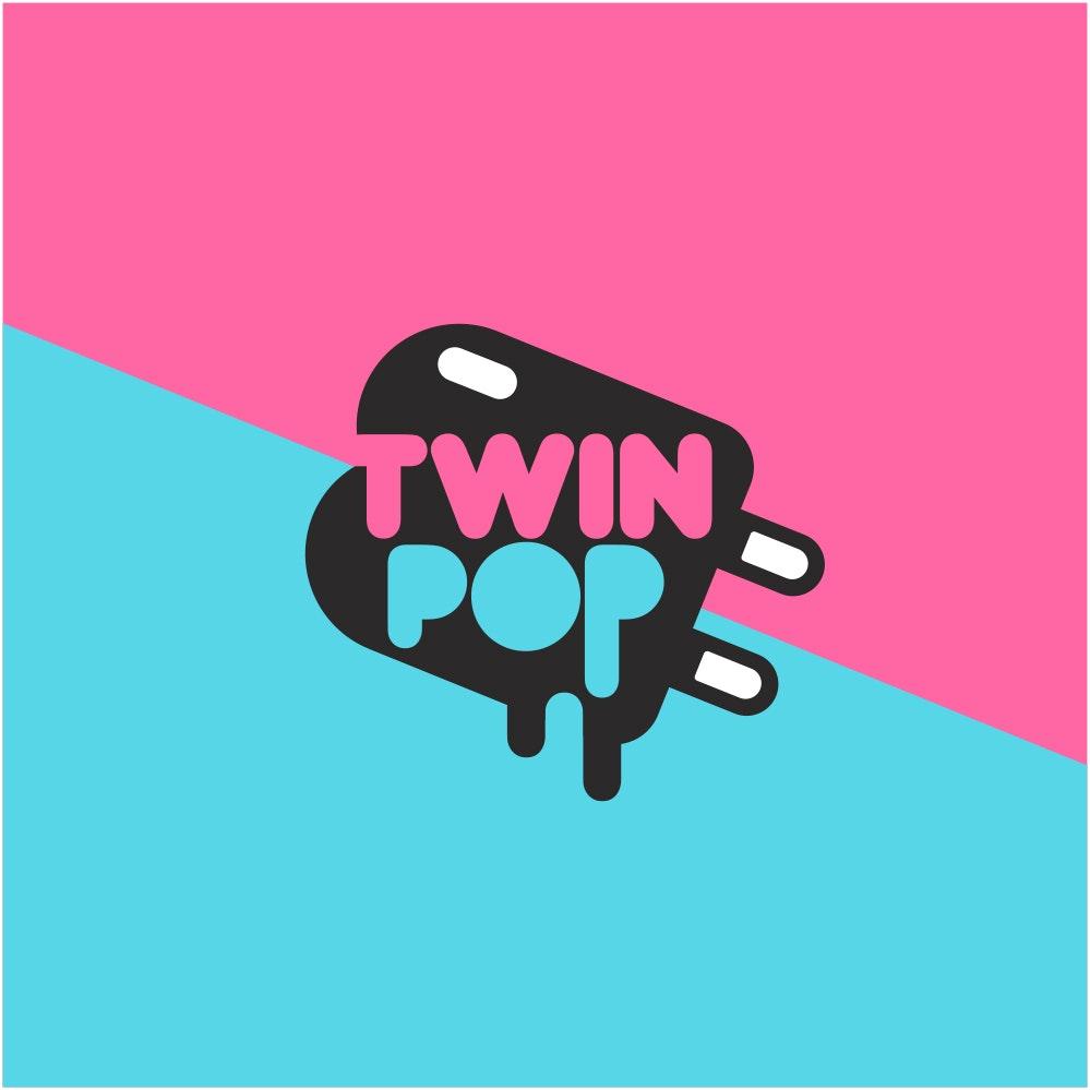 TwinPop popsicle logo