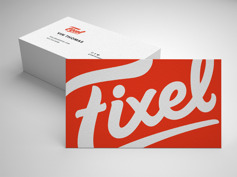Fixel business card