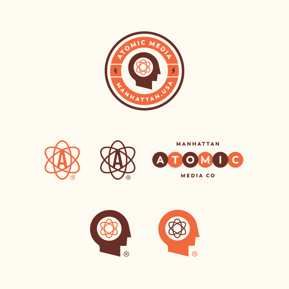 Logo design for Atomic Media