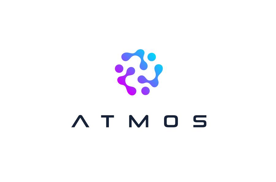 A cellular futuristic logo