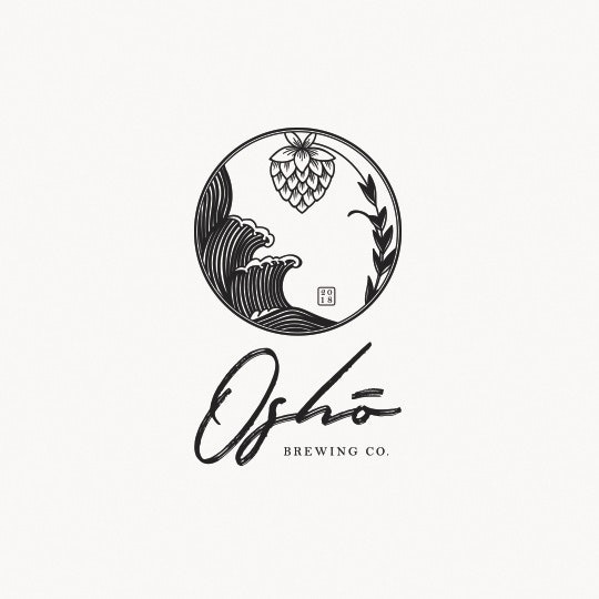 Japanese Osho Brewing co. logo