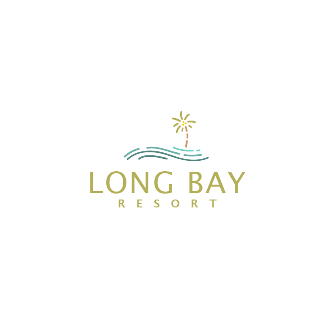 A friendly, simplistic logo design for a resort.