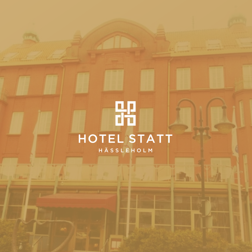 A logo design for a four-star full-service historic hotel.